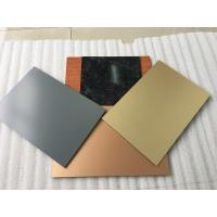 Buy cheap Green Fireproof Aluminium Composite Panel , Architectural Aluminum Panels  product