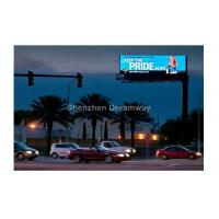 Buy cheap IP65 P20 Unipole Outdoor Street LED Billboard with Steel Cabinet , Video LED Display from wholesalers