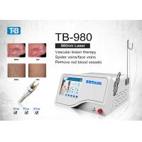 Buy cheap Medical 980 nm Laser Veins Removal Machine / Laser Vascular Lesion Therapy System from wholesalers