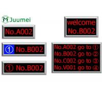 Buy cheap Dot Matrix Token LED Counter Display Bank Queue Number System product