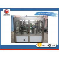 Buy cheap Stainless Steel Carbonated Soda Filling Machine , Soda Bottling Equipment PLC Control from wholesalers