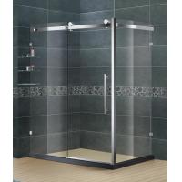 Buy cheap Eco - Friendly Stainless Steel Bathroom Shower Enclosures Clear Tempered Glass from wholesalers