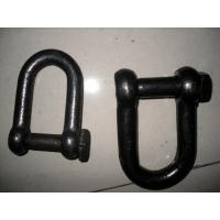Buy cheap Multi Size Rigging Hardware Bow Type Trawling Shackles With Square Head Blue Screw Pin from wholesalers