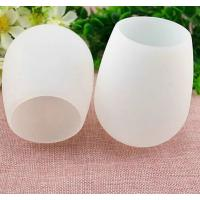 Buy cheap good quality portable FDA and LFGB silicone cup for  wine ,flexible silicone wine cup product