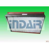 Buy cheap SUS 304 Terminal HEPA Filter High Temperature Resistance For Electronics Industry from wholesalers