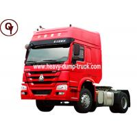 Buy cheap 6 Tires Sinotruk HOWO 4x2 Tractor Head Trailer ISO / SGS Certificated from wholesalers