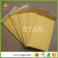 Buy cheap White/Yellow/Blue/Black Kraft Bubble Mailers Padded Envelopes Bags for CD packaging from wholesalers