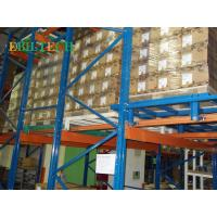 Buy cheap Effective	Push Back Racking Steel Racking And Shelving  High Utilization Of Space from wholesalers