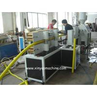 Buy cheap PE / HDPE Carbon Spiral Plastic Corrugated Pipe Extrusion Line from wholesalers