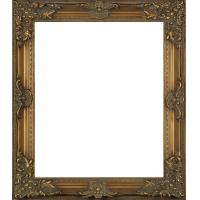 Buy cheap antique golden wooden mirror frame,ornate wood classical mirror frame product