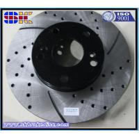 Buy cheap drilled and slotted car brake rotor disc from wholesalers