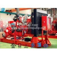 Buy cheap Diesel Engine Horizontal Split Case Pump 2000gpm@10bar With UL/FM Listed from wholesalers