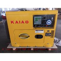 Buy cheap Commercial / Household Small Diesel Generators 15L Fuel Tank Capacity from wholesalers