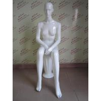 Buy cheap FRP Full-body Female mannequin Sitting from wholesalers