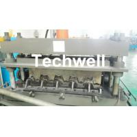 Buy cheap 0.8-1.5mm Thickness Galvanized Steel Building Material High Speed Profile Deck Floor Cold Roll Forming Machine from wholesalers