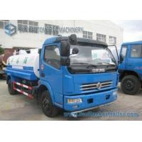Buy cheap Dongfeng Duolika 4 X 2 5000 L Storage Water Tanker Truck 100 hp 2 Axles from wholesalers