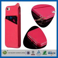 Top quality PU Leather Apple Cell Phone Cases for sale