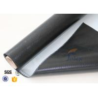 Buy cheap 0.5mm 3732 Black Silicone Rubber Coated Fiberglass Cloth For Fabric Expansion Joint from wholesalers
