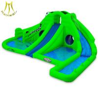 Buy cheap Hansel high quality outdoor water park kids inflatable slide for children game center from wholesalers