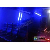 Buy cheap Customize 4D Cinema System Pneumatic / Hydraulic / Electric Motion Chairs With from wholesalers