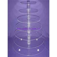 Buy cheap Acrylic Cupcake Stand from wholesalers