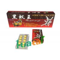 Buy cheap Male Enhancement Product Africa Black Ant Pills For Sexual Stamina ,10 pills / box from wholesalers
