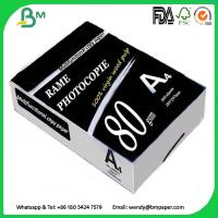 Buy cheap Multipurpose Double A4 Copy 80 gsm / White A4 Copy Paper a4 paper 70g 80g from wholesalers