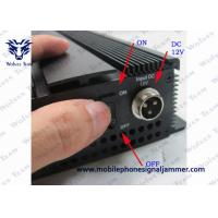 Buy cheap Adjustable Cell Phone Signal Blocker 24 Hours Continuous Operate Time 3G 4GLTE 4GWimax product