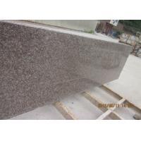 G687 Granite Countertop Slabs , Peach Red Granite Small Slabs 240up x 70 cm
