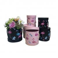 Buy cheap Luxury Gift Box Packaging / Recycled Round Flower Box For Preserved Roses from wholesalers