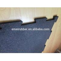 Buy cheap indoor excercise rubber floor tile from wholesalers