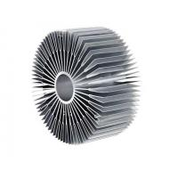 Buy cheap Mill Finish U Shaped Round Heat Sink Extrusion Aluminum Profile from wholesalers