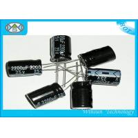 Buy cheap Black 22000uf 100v Aluminum Electrolytic Capacitor CD291 High Capacity For DVD / Telephone from wholesalers
