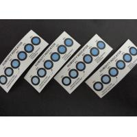 Cobalt Free Humidity Indicator Cards Six Dots Blue To Pink For Semiconductor Packaging