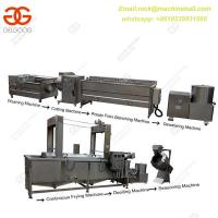 Buy cheap Semi-automatic French Fries Making Line Potato Chips Making Line with Small Scale Factory Potato Chips Making Line from wholesalers