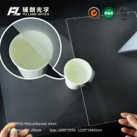 Buy cheap Anti Fog Scratch Resistant Acrylic Sheet , Acrylic Polycarbonate Sheets from wholesalers