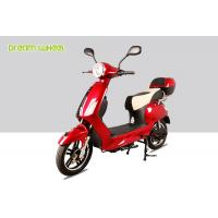 Buy cheap Vespa Style 25-32km / H Pedal Assisted Electric Scooter Bicycle 250w-600w 48v Battery from wholesalers