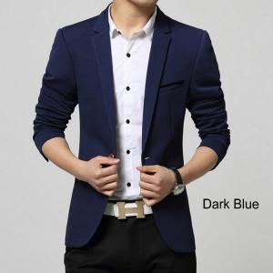 Buy cheap Men Casual Blazer Suit Fashion Design Slim-fit Suit Good Quality Hot Sale ! product