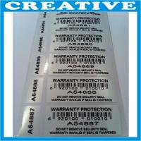 Buy cheap seal void security label product