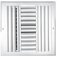 Buy cheap Double deflection grille 1000x600mm from wholesalers