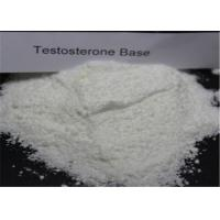 Buy cheap Bodybuilding Testosterone Anabolic Steroid CAS 58-22-0 Testosterone Base Powder from wholesalers