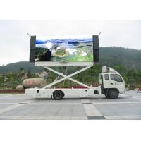 Buy cheap RGB P10 Truck Mounted LED Display Signs High Definition 1 / 4 Scan from wholesalers