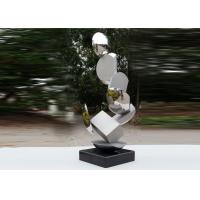 Buy cheap Modern Stainless Steel Sculpture Highly Polished For Pool Decoration product