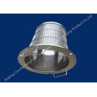 Buy cheap SS Rotary Drum Screen Filter Wedge Wire Basket Different Vee Wire Baskets from wholesalers
