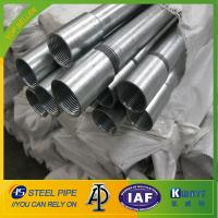 Buy cheap Hot Dipped Galvanized Steel Pipe With Threads Ends from wholesalers