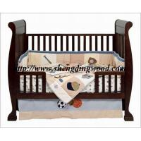 Buy cheap high quality wooden sleigh baby cot from wholesalers