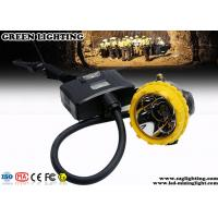 Buy cheap Custom Semi - Corded Mining Cap Lights 10000 Hours Life Span 3.7V 15000 Lux from wholesalers