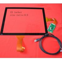 Buy cheap Flexible 15inch Capacitive Touchscreen , 6H Holographic Touch Screen from wholesalers