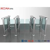 Buy cheap Electronic Waist Height Turnstiles Rfid Security Gate Barrier Space Saving Servo Morto product