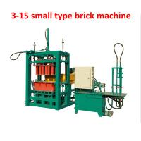 China Small type manual  Brick Molding Machine JF-QT3-15 prices on sale